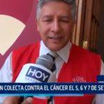 Alistan colecta contra el cáncer el 5,6 y 7 de setiembre