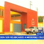 Trujillo: Escolares de Laredo piden ser reubicados a moderno colegio