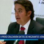 Colombia y Perú cruzarán datos de migrantes venezolanos