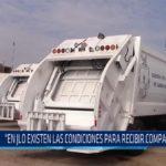 """Chiclayo: """"En JLO existen las condiciones para recibir compactadoras"""