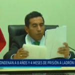 Condenan a 8 años y 4 meses de prisión a ladrón de boutique