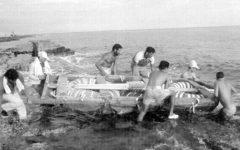 """Cubanos huyen de mediante el mar de su  """"Crisis de los Balseros"""""""