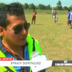 Cuadro Carlos Orbegoso va quedando listo en Laredo