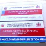 Daniel Marcelo confía en salir libre de tacha apelada al JNE