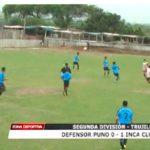 Segunda División: Defensor Puno perdió 0 – 1 ante Inca Club