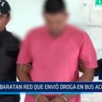 Ecuador: Desbaratan red que envió droga en bus accidentado