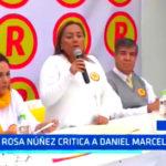 Trujillo: Rosa Núñez critica a Daniel Marcelo