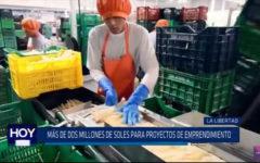 Más de 2 millones de soles para proyectos de emprendimiento