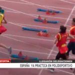 España ya practica en polideportivo