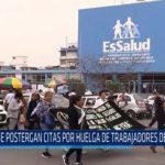 Chiclayo: Se postergan citas por huelga de trabajadores de Essalud
