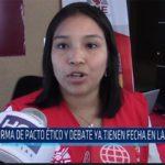 Chiclayo: Firma de pacto ético y debate ya tienen fecha en Lambayeque