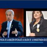 Piura: Fiscal de la nación oficializó la salida de la magistrada Azucena Espinoza