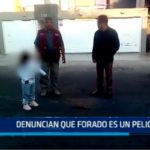 Trujillo: Denuncian que forado es un peligro