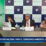 VII Foro Nacional para el compromiso ambiental universitario