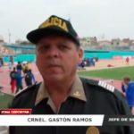 Policía Nacional resguarda a deportistas