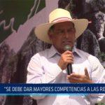 """Chiclayo: """"Se debe dar mayores competencias a las regiones"""""""