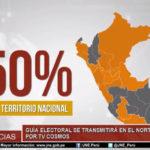 Guía Electoral 2018 se transmitirá en el norte y selva por TV Cosmos