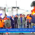 Salaverry: Trabajadores de ENAPU inician huelga