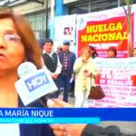 Trujillo: Trabajadores de EsSalud exige nuevas escalas salariales
