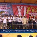 Chiclayo: Se inauguró XI feria birregional Lambayeque  – Cajamarca
