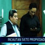 Chimbote: Le incautan 7 propiedades