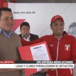 IPD: Ligas y clubes formalizaron su situación