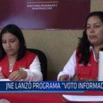 "Chiclayo: JNE lanzó programa ""Voto Informado"""