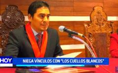 """Audios de la vergüenza: Juez niega vínculos con """"Los cuellos blancos"""""""