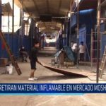 Chiclayo: Retiran material inflamable en mercado Moshoqueque
