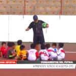 IPD: Niños aprenden fundamentos del fútbol