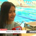 María Fe Vásquez enamorada del nado artístico