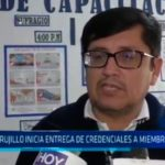 ODPE Trujillo entrega de credenciales a miembros de mesa