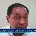 Se oponen a vacancia: Luis Yika da la espalda a fujimoristas