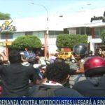 Piura: Ordenanza contra motociclistas llegará a fines de agosto