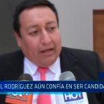 Paúl Rodríguez aún confía en ser candidato