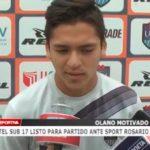 Plantel Sub 17 listo para partido ante Sport Rosario