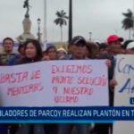 La Libertad: Pobladores de Parcoy exigen reconstrucción de colegio