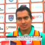 Club poeta: Peña espera sumar nueva victoria