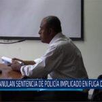 "Chiclayo: Anulan sentencia de policía implicado en fuga de ""picolo"""