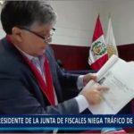 Piura: Presidente de la junta de fiscales niega tráfico de influencias