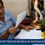 Piura: Presunto tráfico de influencias en UNP