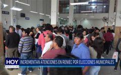 Chiclayo: Incrementan atenciones en Reniec por elecciones municipales