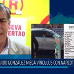 Ricardo González niega vínculos con narcotraficante