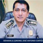 Piura: Separan a coronel de la policía implicado en muerte de joven universitario