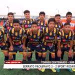 Sub 15: Serrato Pacasmayo venció 3 – 2 a Sport Rosario