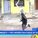 Un muerto y tres heridos en ataque de sicarios