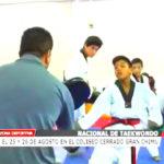 Taekwondo: Este 25 y 26 de agosto en el Coliseo Cerrado Gran Chimú