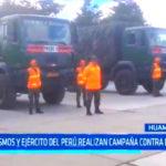 TV Cosmos y Ejército del Perú realizan campaña contra el friaje