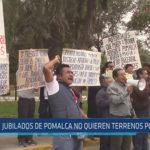 Chiclayo: Jubilados de Pomalca no quieren terrenos por deuda