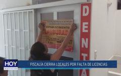 Chiclayo: Fiscalía cierra locales por falta de licencias